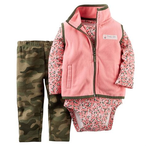 Carters Pant 3 In 1 24 Month carters newborn 3 6 9 12 18 24 months vest pant set baby clothes camouflage ebay