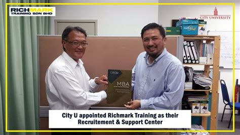 City Mba Program by Richmark Together We Evolve