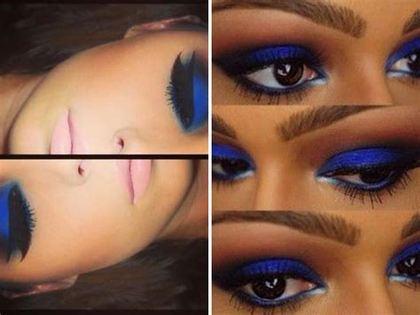 what colors make up blue makeup tips for wearing royal blue dress everafterguide