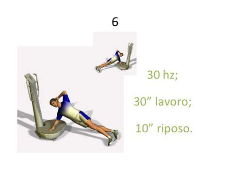 pedana vibrante esercizi esercizi per pedana vibrante 28 images esercizi con