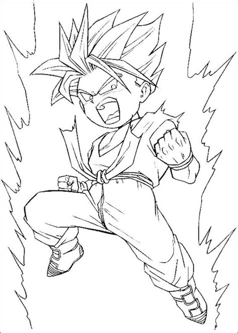 dragon ball z kai coloring pages to print dragon ball z 14 coloring page