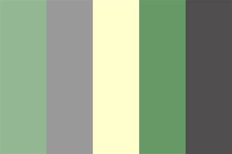 green color schemes mindful green color palette