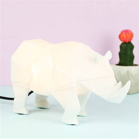 Origami Safari Animals - origami safari animal light by