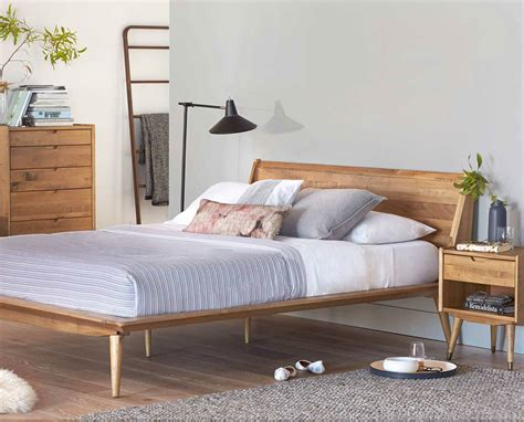 scandinavian bed dania the nordic inspired bolig bed is crafted from