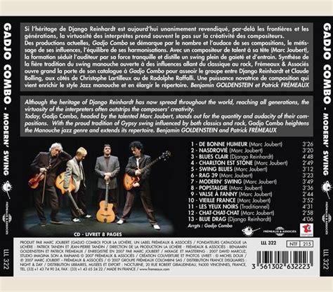 modern swing music jazz guitare modern swing lll322 fr 233 meaux associ 233 s