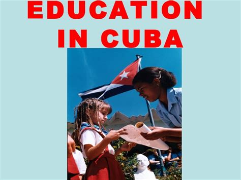 cuba educational activities education in cuba by osvaldo guti 233 rrez p 233 rez