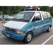 Ford Aerostar Policejpg  Wikimedia Commons