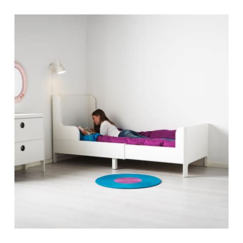 ikea extendable bed busunge extendable bed white 80x200 cm ikea