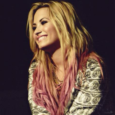 demi lovato inspired pink purple dip dye ombre hair 19 pictures demi lovato with blonde hair 2013 pics lytum