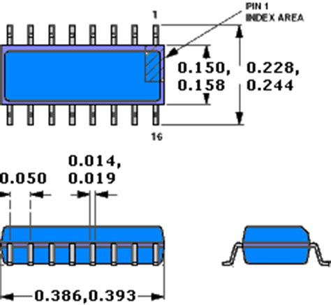 soic 8 footprint dimensions package outlines soic rf cafe