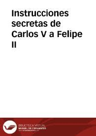 felipe ii biblioteca manuel 8467018011 instrucciones secretas de carlos v a felipe ii manuel fern 225 ndez 193 lvarez ed biblioteca