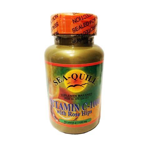 Suplemen Vitamin C jual sea quill vitamin c suplemen kesehatan 1000 mg harga kualitas terjamin