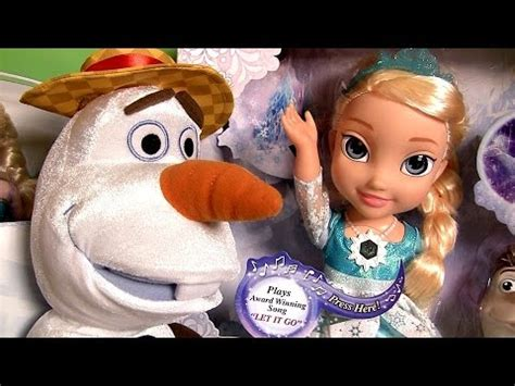 disney frozen toys snow glow elsa musical magical set royal sisters sing swing olaf youtube