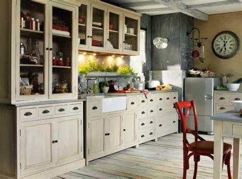 imagenes vintage para cocina cocinas con decoraci 243 n vintage cocinas adorables casa y