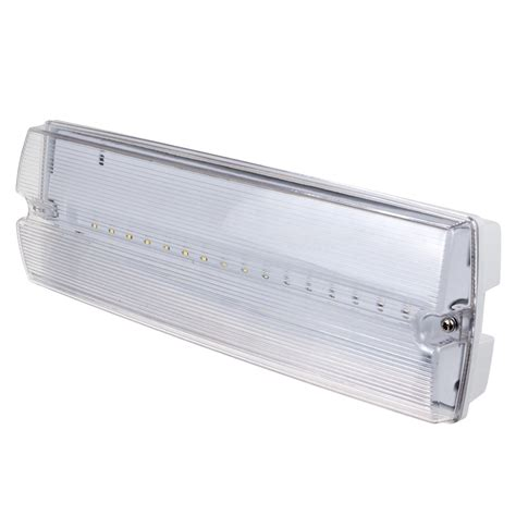 Lu Emergency Led L4406 v tac 16 leds bulk emergency exit light ip65 white light sku 8096 vt 523