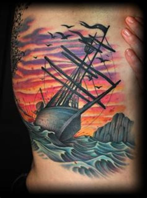 shipwreck tattoo 30 ship tattoos tattoofanblog