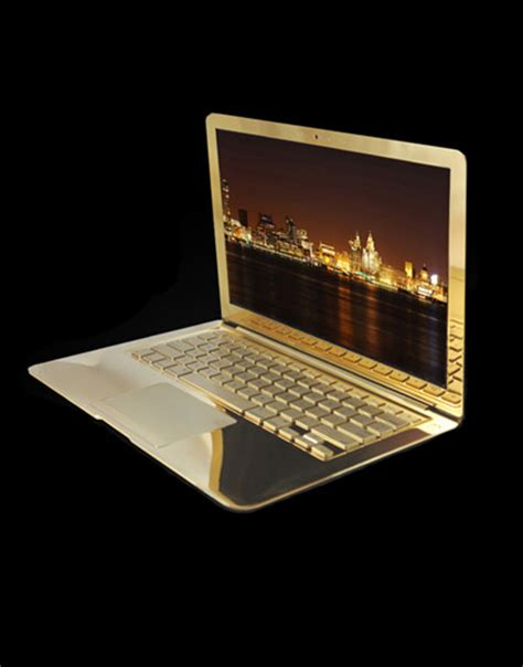 Macbook Pro Gold gold alchemist 24k gold macbook