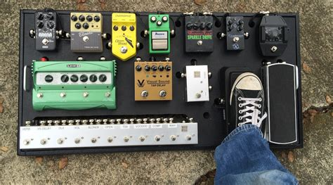 Handmade Pedal Board - west coast pedal boards custom standard pedalboard
