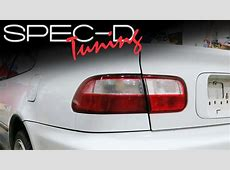 SPECDTUNING INSTALLATION VIDEO: 1992 - 1995 HONDA CIVIC ... 2012 Civic Si Coupe