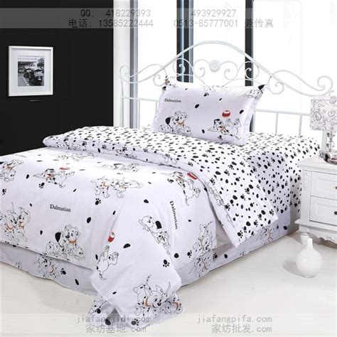 twin size bed sheets aliexpress com buy dog print bedding sets cotton bed sheets bedspread kids cartoon