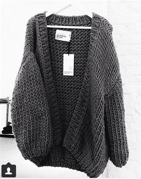 knitted cardigan sweater make a style statement wearing a chunky knit cardigan