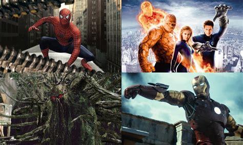marvel film rights history marvel movie history 2004 to 2008 geektyrant