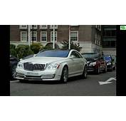 Maybach Coupe In London  YouTube