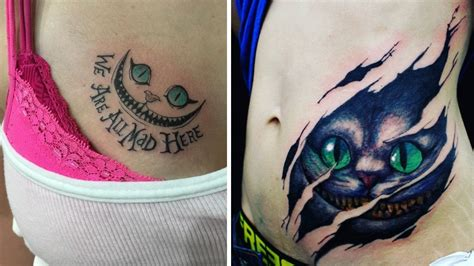 cheshire cat tattoo designs staggering cheshire cat ideas