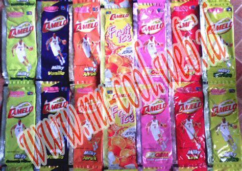 Paket Awal Es Camelo Box jual murah es mrcool camelo capinos fruties toka toka