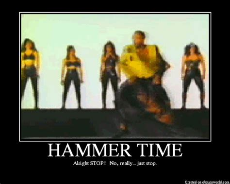 Hammer Time Meme - street smart language learning
