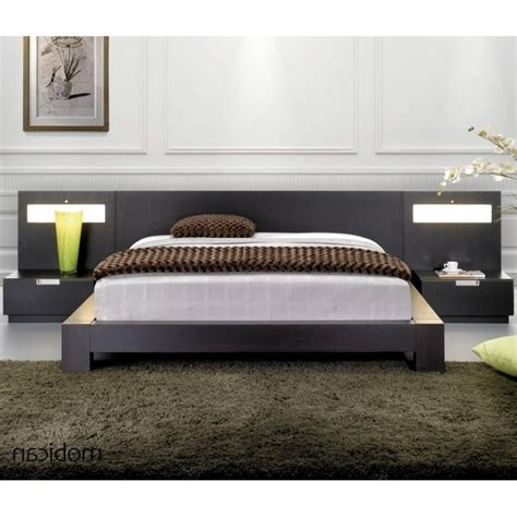 low nightstand for platform bed modloft worth king bed low nightstand for platform bed