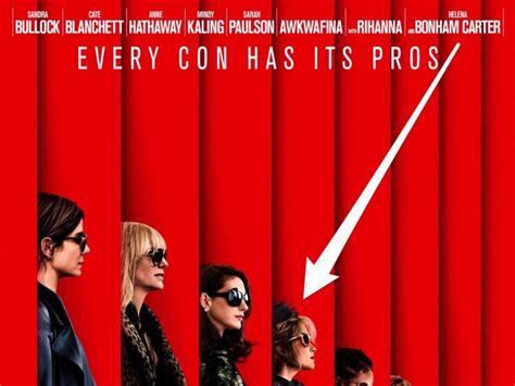 The annoying detail in the new 'Ocean's 8' poster - INSIDER K 11 Poster