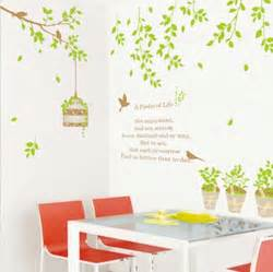 Wall Stickers For Living Room Malaysia Green Birdcage Living Room Wall Sticker