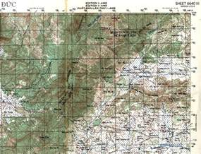 maps sheets 6640