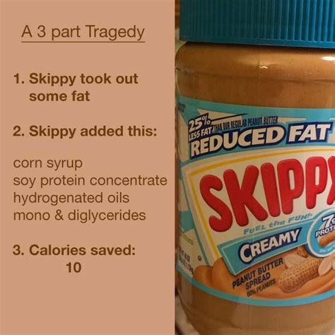healthy fats peanut butter reduced peanut butter fail fooducate