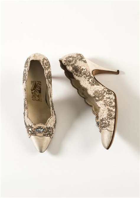 Monsoons Florence Vintage Inspired Court Shoes by A History Of Fashion In 100 Objects Gallery The Fashion