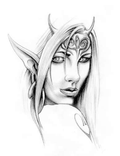 elf tattoo designs the black tattoos tattoos