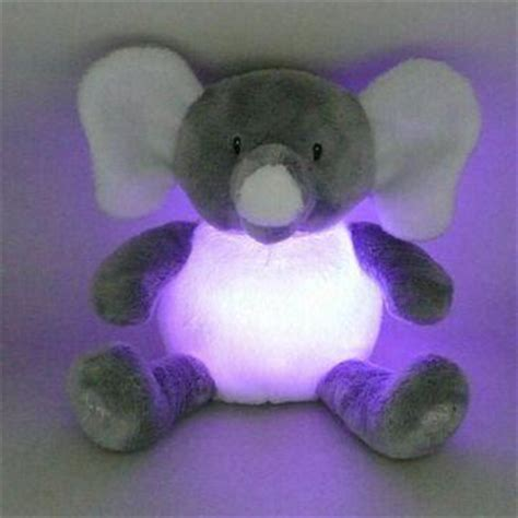 China Novelty Plush Light Up Toy In Elephant Design With