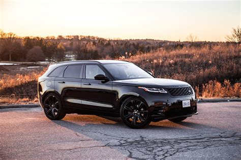 range rover velar black review 2018 range rover velar p380 canadian auto review