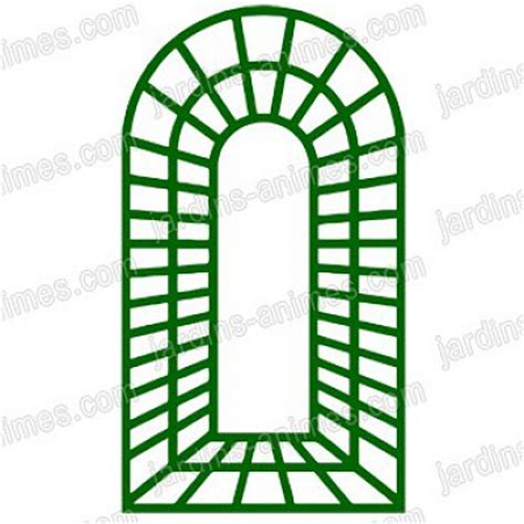 treillage bois jardin treillage trompe l oeil 1 0m x 1 78m en bois vert treillages support grimpantes