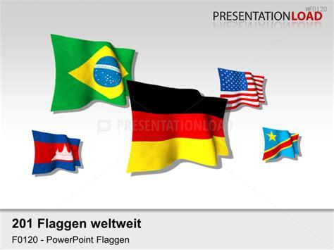 design zuordnen powerpoint presentationload welt set flaggen 3d