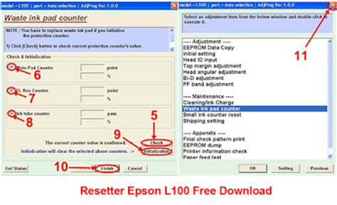 reset epson l355 download free printer resetter free download