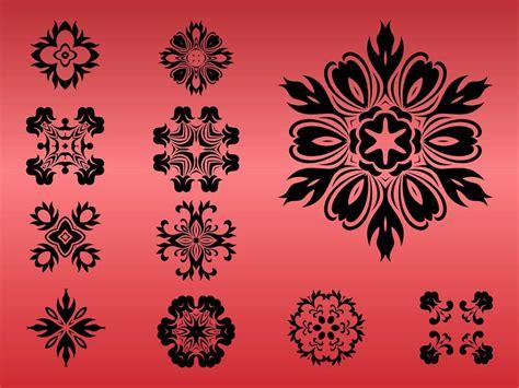 flower design pictures round floral designs