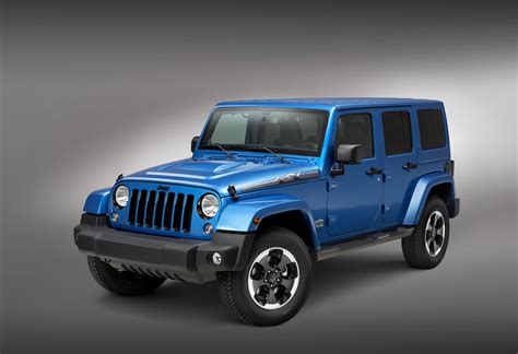 All About Jeeps All New Jeep Wrangler Polar Edition Debuts At The 2013