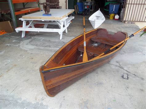 row boat plans classic wooden rowboats here bodole