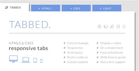 18 best html5 css3 accordion tabs and menus