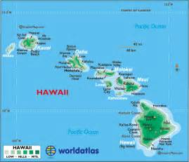 us map with hawaii map of hawaii large color map