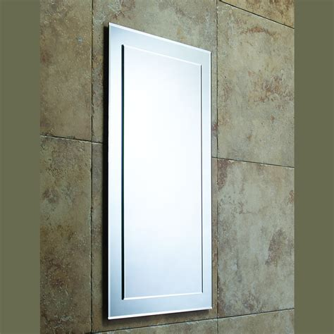 bevelled bathroom mirrors roper rhodes hannah bevelled bathroom mirror mps402