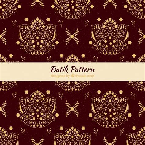 batik pattern illustrator free vintage batik pattern vector free download