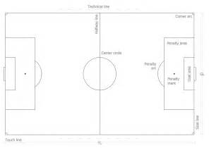 soccer template soccer football field templates